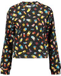 Love Moschino - 'space' Print Sweatshirt - Lyst