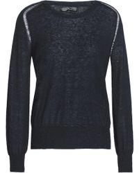 7 For All Mankind - Slub Stretch-knit Sweater - Lyst
