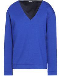 DKNY - Jersey Sweater Royal Blue - Lyst