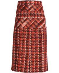Stella Jean - Tweed Skirt - Lyst