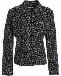 Ganni - Floral-print Jacket - Lyst