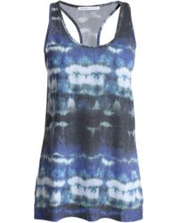 Yummie By Heather Thomson | Tie-dyed Stretch-jersey Tank | Lyst