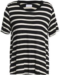 Velvet By Graham & Spencer - Tiana Striped Jersey T-shirt - Lyst