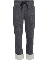 See By Chloé - Mélange Terry Track Pants - Lyst