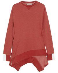 Preen Line - - Wackley Cotton-blend Jersey Sweatshirt - Brick - Lyst