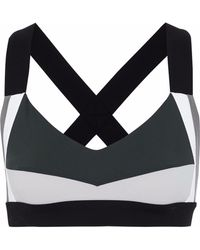 NO KA 'OI - Ola Cutout Tech-jersey Sports Bra - Lyst