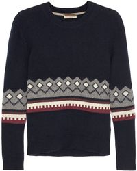 Burberry Brit - Wool And Cashmere-blend Jumper - Lyst