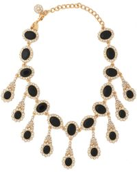 Kenneth Jay Lane - Gold-tone, Stone And Crystal Necklace - Lyst