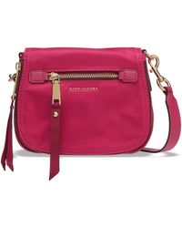 Marc Jacobs Trooper Nomad Small Shell Shoulder Bag Fuchsia