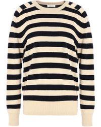 Totême  - Striped Cashmere Jumper - Lyst
