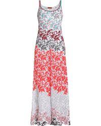 Missoni - Metallic Embroidered Open-knit Jumpsuit - Lyst