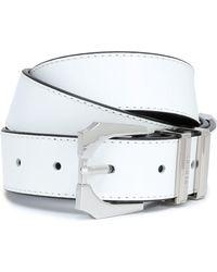 Versus - Leather Belt - Lyst