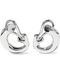 Charlotte Chesnais - Monie Sterling Silver Clip Earrings - Lyst