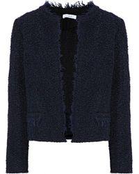 IRO - Cof Frayed Bouclé-tweed Jacket - Lyst