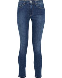 Acne Studios - Mid-rise Faded Skinny Jeans - Lyst