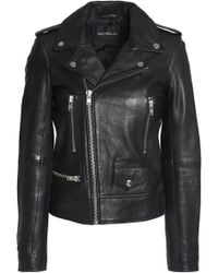 Nicholas - Leather Biker Jacket - Lyst