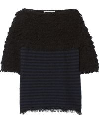 Thakoon - Addition Textured Cotton-blend Sweater - Lyst