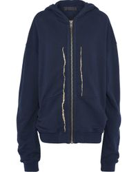 Haider Ackermann - Metallic Embroidered Cotton Hooded Jacket - Lyst