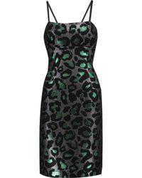 Marc By Marc Jacobs - Metallic Jacquard Mini Dress - Lyst