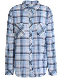 Soft Joie - Gingham Cotton-blend Shirt - Lyst