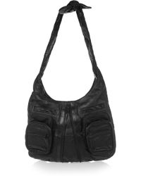 3980dc3a Alexander Wang - Donna Textured-leather Shoulder Bag - Lyst