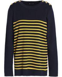 Petit Bateau - Striped Cotton Sweater - Lyst