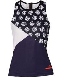 adidas By Stella McCartney - Floral-print Performance Tank Top - Lyst