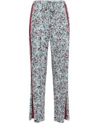 Cosabella - Woman Printed Pima Cotton And Modal-blend Pyjamas Mint - Lyst
