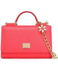 Dolce & Gabbana - Leather Phone Case - Lyst