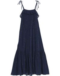 Co. - Ruffled Silk-blend Fil Upe Maxi Dress - Lyst