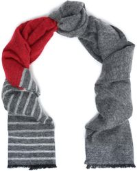Brunello Cucinelli - Printed Woven Scarf - Lyst
