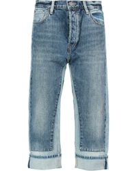 Marc By Marc Jacobs - Big Jean High-rise Cropped Panelled Straight-leg Jeans - Lyst