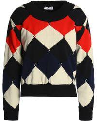 Sonia Rykiel - Intarsia-knit Sweater - Lyst