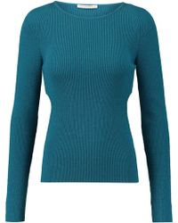 Emilia Wickstead - Heidi Wool-blend Sweater - Lyst