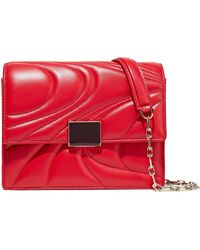 Emilio Pucci - Quilted Leather Shoulder Bag Tomato Red - Lyst