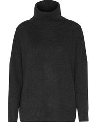 Enza Costa - Knitted Turtleneck Sweater - Lyst