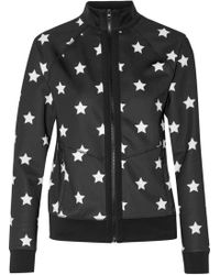 Purity Active - Printed Stretch Jacket - Lyst