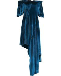 Preen By Thornton Bregazzi - Atmosphere Bead-embellished Chiffon, Crepe And Jersey Mini Dress - Lyst
