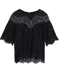 Sandro - Laslo Corded Lace Top - Lyst