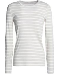 Petit Bateau - Striped Cotton-jersey T-shirt - Lyst