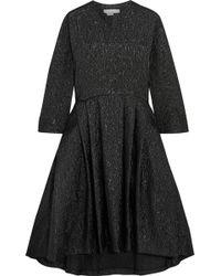 Studio Nicholson - Effie Oversized Cotton-blend Matelassé Dress - Lyst