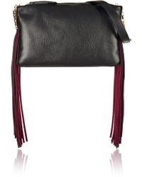 Tamara Mellon - Playboy Iii Fringed Leather Shoulder Bag - Lyst