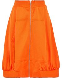 Moschino - French Terry Skirt - Lyst