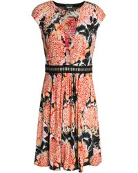 Just Cavalli - Printed Jersey Mini Dress - Lyst