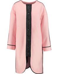 Sonia by Sonia Rykiel - Reversible Wool-blend Coat - Lyst