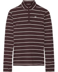 Ariat - Lowell Striped Stretch-jersey Top - Lyst