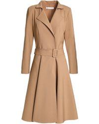 Oscar de la Renta - Wool And Cashmere-blend Trench Coat - Lyst