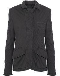 Haider Ackermann - Cotton-jersey Jacket - Lyst