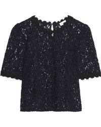 Claudie Pierlot - Corded Lace Top - Lyst