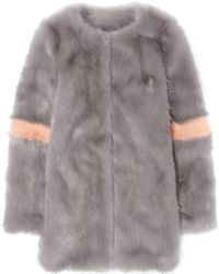 Shrimps - Ariel Faux Fur Coat - Lyst